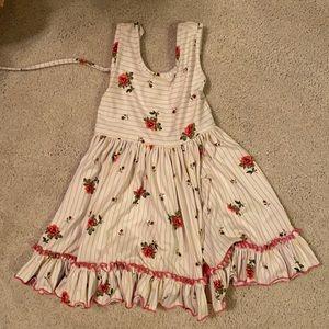 Cheeky plum dress